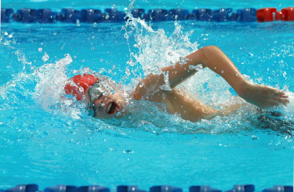 swimming as a workout